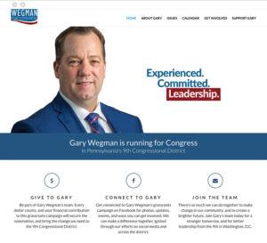 Gary Wegman website