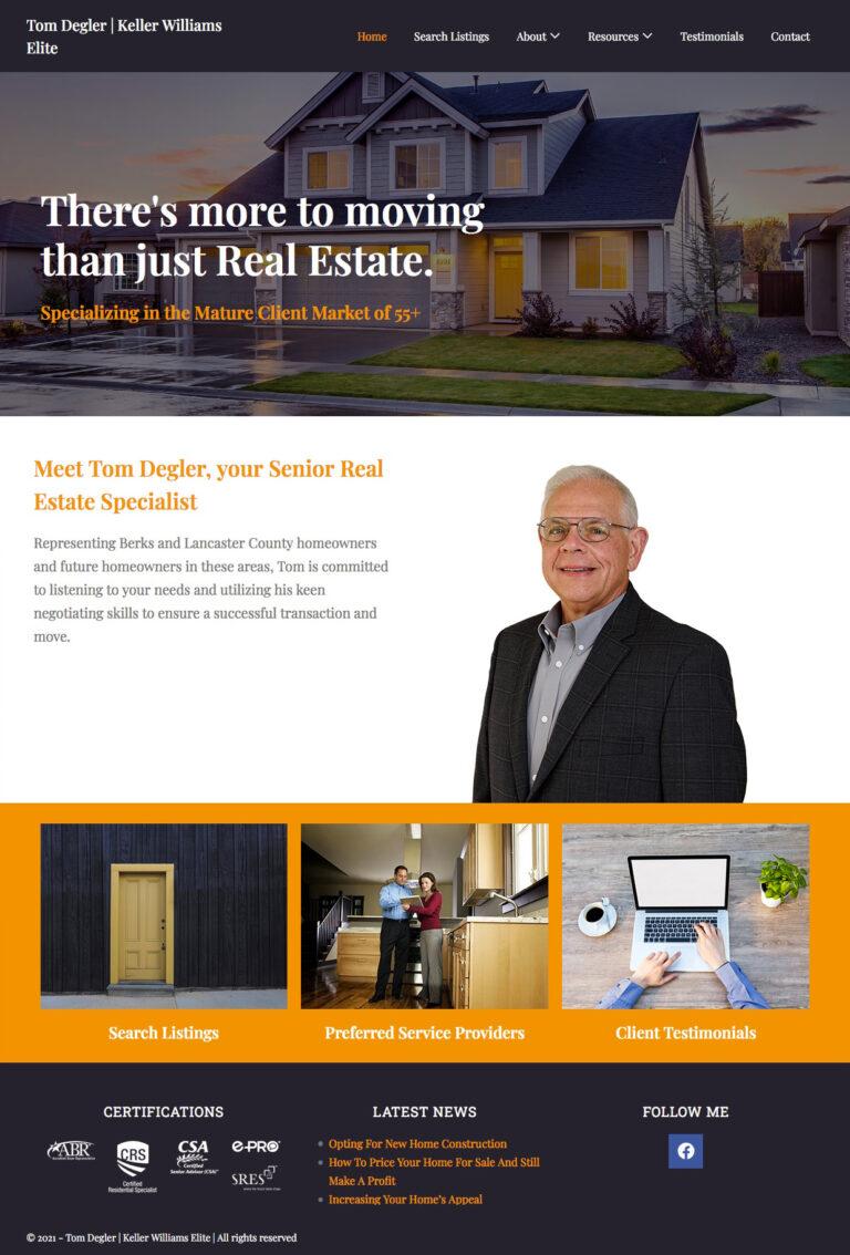 My Berks Realtor website